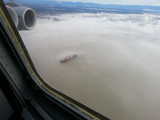 Επιπλέοντας πάνω σε ένα σύννεφο | Φωτογραφία της ημέρας