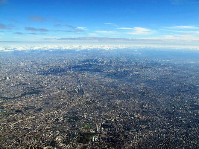 Η μητρόπολη του Τόκιο από ψηλά   Φωτογραφία της ημέρας