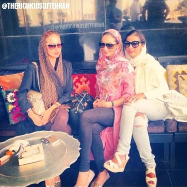 Τα πλουσιόπαιδα της Τεχεράνης επιδεικνύουν την καθημερινότητα τους στο Instagram (15)