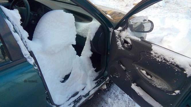 Ποτέ μην ξεχνάς να κλείνεις το παράθυρο του αυτοκινήτου τον Χειμώνα (3)