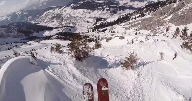 Πως είναι να κατεβαίνεις ένα βουνό ως ένας από τους καλύτερους σκιέρ στον κόσμο