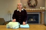 Πως να διπλώσετε ένα σεντόνι με λάστιχο