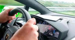 Βγήκαν ζωντανοί από ατύχημα με μια Lamborghini Aventador που έτρεχε με 320 χλμ/ώρα (Video)