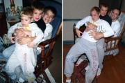 3 αδέρφια αναπαράγουν τις παιδικές τους φωτογραφίες ως δώρο για την μητέρα τους (14)