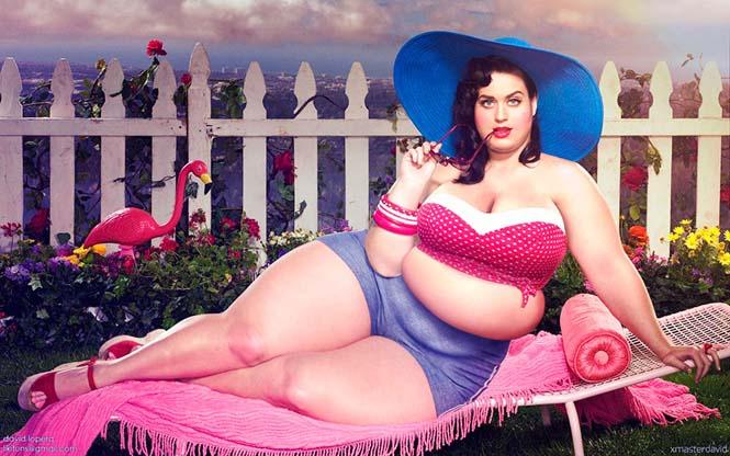 Αν οι διάσημες ήταν υπέρβαρες (1)