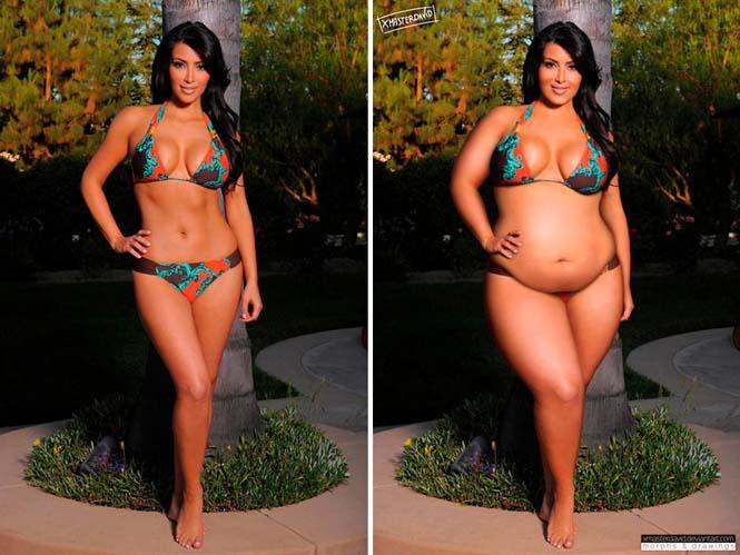 Αν οι διάσημες ήταν υπέρβαρες (2)
