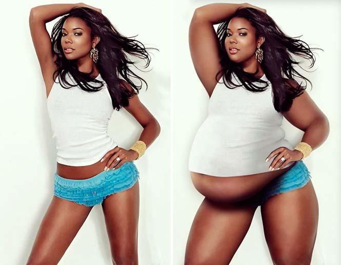 Αν οι διάσημες ήταν υπέρβαρες (8)