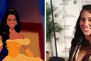 Άνδρας μετέτρεψε την φίλη του σε πριγκίπισσα της Disney (1)