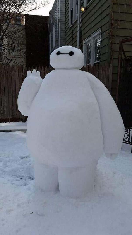 Άνθρωποι που ήξεραν τι πρέπει να κάνουν με το χιόνι (2)