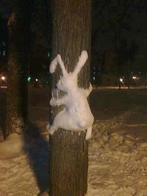 Άνθρωποι που ήξεραν τι πρέπει να κάνουν με το χιόνι (7)