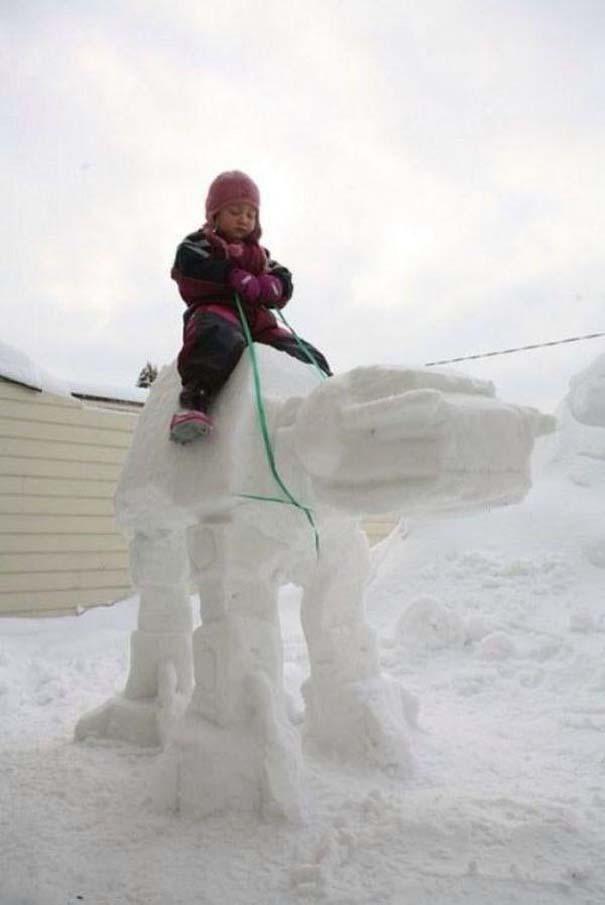 Άνθρωποι που ήξεραν τι πρέπει να κάνουν με το χιόνι (10)