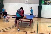 Απίστευτη βολή στο ping pong που σαρώνει στο διαδίκτυο