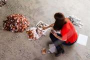 Ένα απίστευτο έργο τέχνης με 20.000 σακουλάκια τσαγιού (1)
