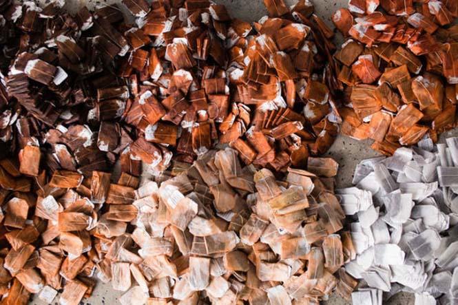 Ένα απίστευτο έργο τέχνης με 20.000 σακουλάκια τσαγιού (2)