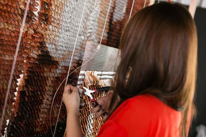 Ένα απίστευτο έργο τέχνης με 20.000 σακουλάκια τσαγιού (4)