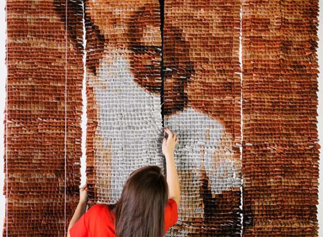 Ένα απίστευτο έργο τέχνης με 20.000 σακουλάκια τσαγιού (6)