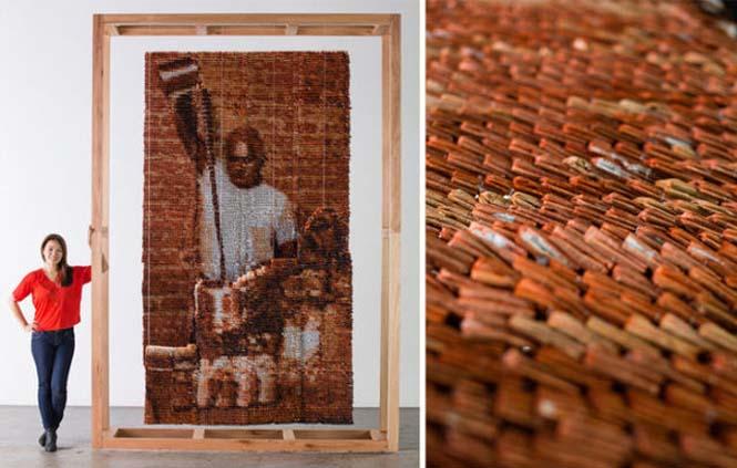 Ένα απίστευτο έργο τέχνης με 20.000 σακουλάκια τσαγιού (9)
