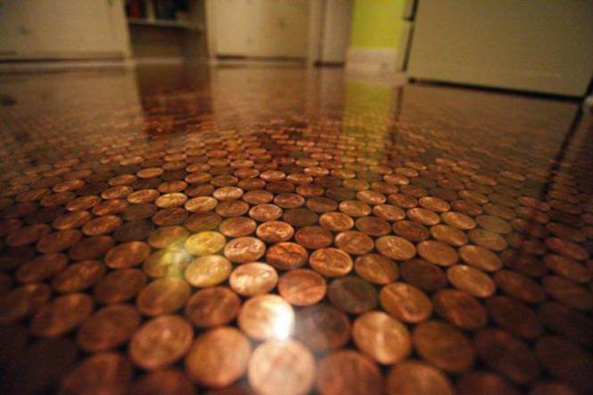 Εντυπωσιακά πατώματα που δημιουργήθηκαν με κέρματα (15)