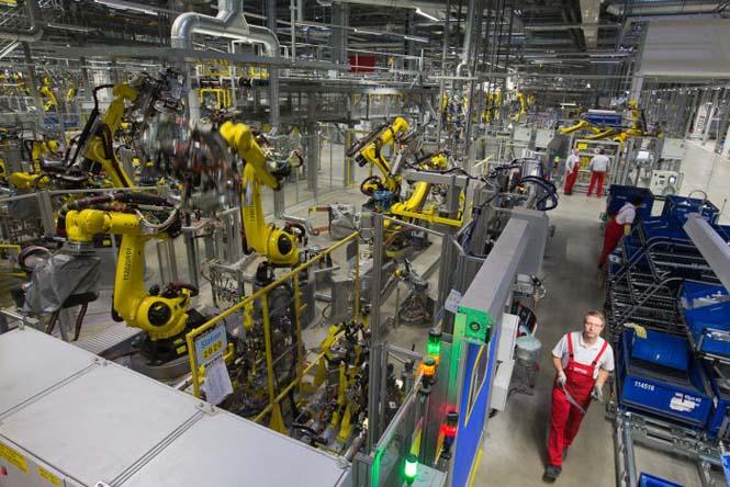 Εργοστάσιο Porsche στη Λειψία (2)