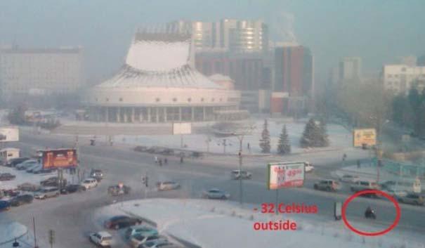Έτσι αντιμετωπίζουν τον Χειμώνα στην Ρωσία (2)