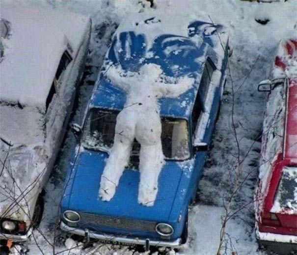 Έτσι αντιμετωπίζουν τον Χειμώνα στην Ρωσία (10)