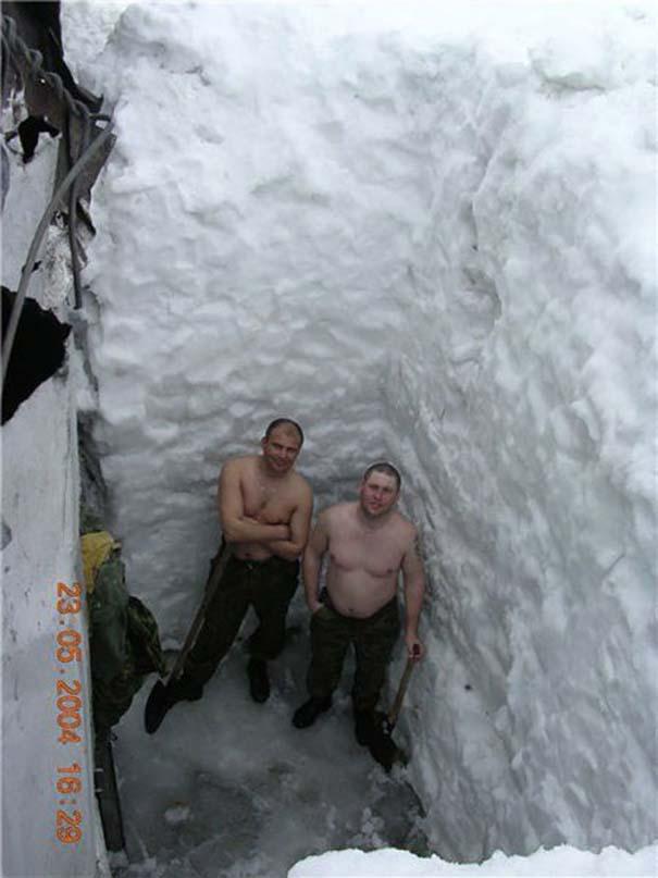 Έτσι αντιμετωπίζουν τον Χειμώνα στην Ρωσία (12)