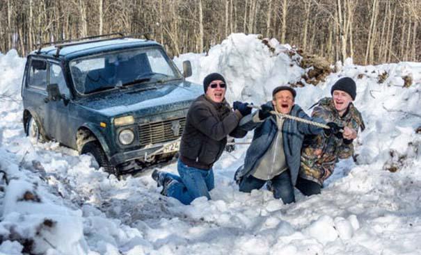 Έτσι αντιμετωπίζουν τον Χειμώνα στην Ρωσία (28)