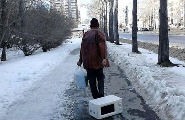 Έτσι αντιμετωπίζουν τον Χειμώνα στην Ρωσία (31)