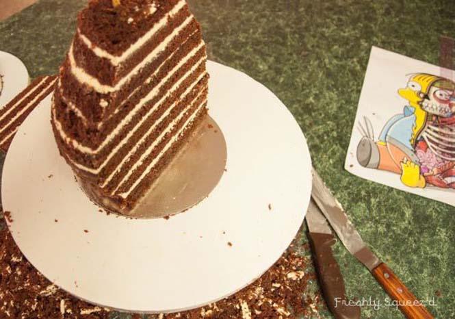 Φτιάχνοντας μια από τις πιο πρωτότυπες τούρτες που έχετε δει (5)