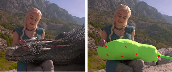 Game of Thrones: Τα ειδικά εφέ πίσω από τους δράκους της σειράς