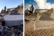Η παραλία που... χάθηκε και επανήλθε μετά από δυο μέρες (1)