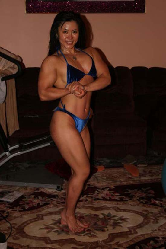 Μπορείτε να μαντέψετε την ηλικία αυτής της Γιαπωνέζας Bodybuilder; (10)