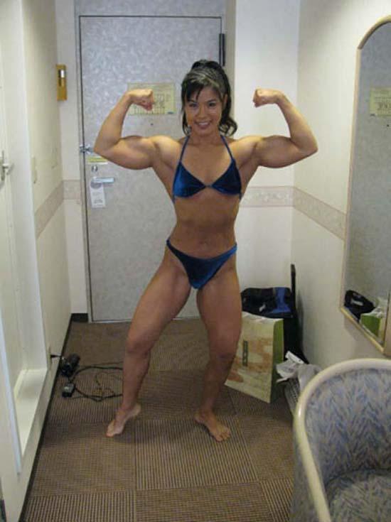 Μπορείτε να μαντέψετε την ηλικία αυτής της Γιαπωνέζας Bodybuilder; (6)