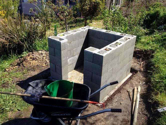 Κατασκευή ενός αυτοσχέδιου ξυλόφουρνου (5)