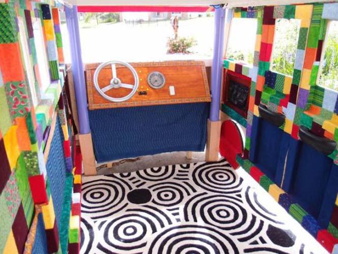 Η κατασκευή ενός κρεβατιού που μοιάζει με φορτηγάκι Volkswagen (22)