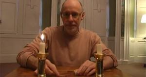 Τα μαγικά κεριά: Μπορείτε να μαντέψετε πως γίνεται αυτό το απίθανο κόλπο; (Video)