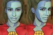 Άνθρωποι που μεταμορφώθηκαν σε χαρακτήρες κόμικς με τη βοήθεια του μακιγιάζ (8)