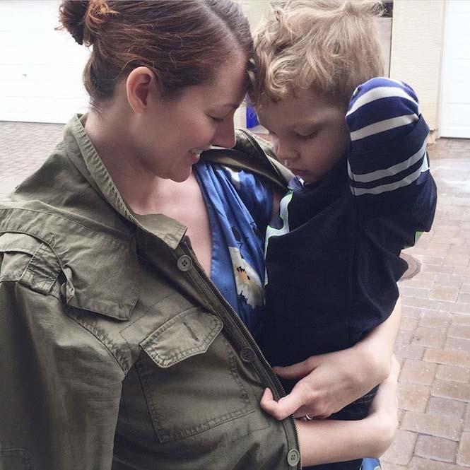 Μητέρα αφήνει τον 3χρονο γιο της να τη ντύνει κάθε μέρα για μια εβδομάδα (7)
