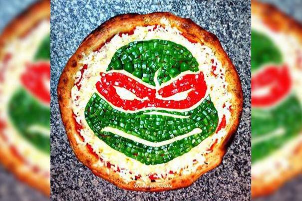 Όταν η πίτσα γίνεται καμβάς για έργα τέχνης (1)