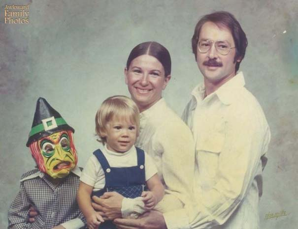 Παιδιά που έκλεψαν την παράσταση σε οικογενειακές φωτογραφίες (1)