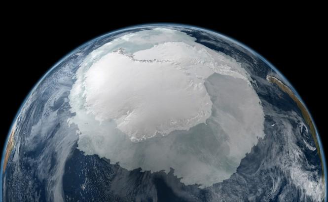 Η Ανταρκτική όπως φαίνεται από το διάστημα | Φωτογραφία της ημέρας
