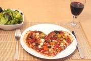 Pizza σε σχήμα καρδιάς για ερωτευμένους τεμπέληδες