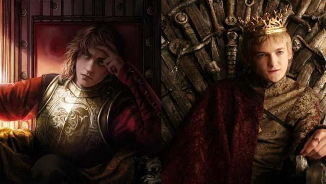 Πως είναι οι χαρακτήρες του Game of Thrones με βάση τα βιβλία (1)