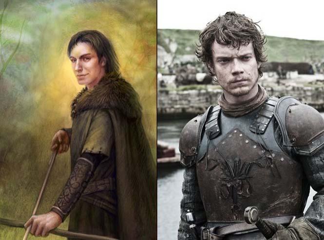 Πως είναι οι χαρακτήρες του Game of Thrones με βάση τα βιβλία (7)