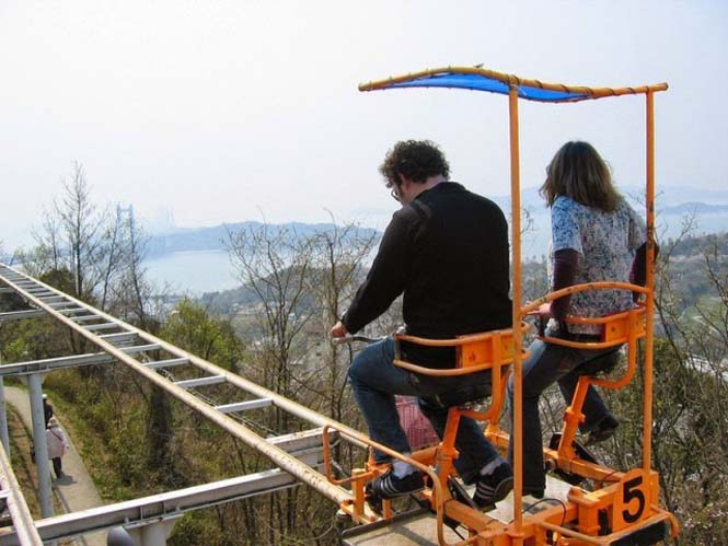 SkyCycle: Ένα rollercoaster με πετάλια (3)