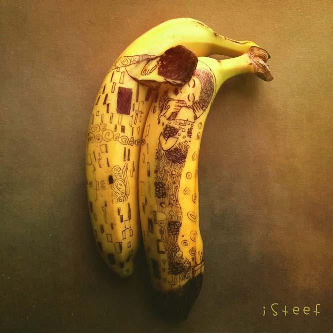 Τέχνη με μπανάνες από τον Stephan Brusche (3)