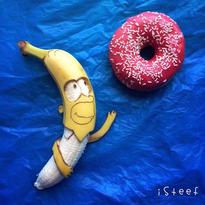 Τέχνη με μπανάνες από τον Stephan Brusche (4)