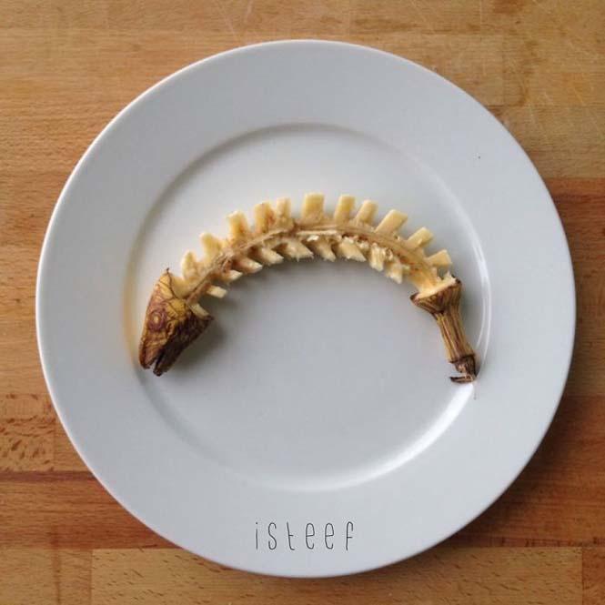 Τέχνη με μπανάνες από τον Stephan Brusche (5)