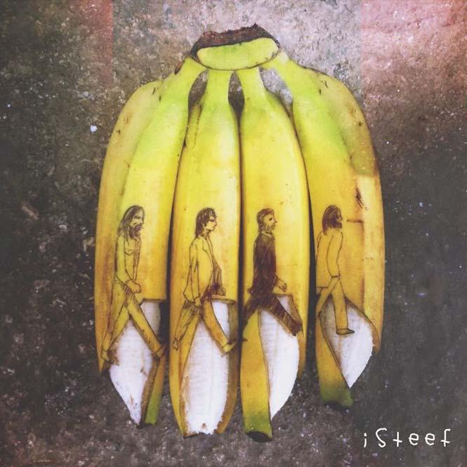 Τέχνη με μπανάνες από τον Stephan Brusche (8)