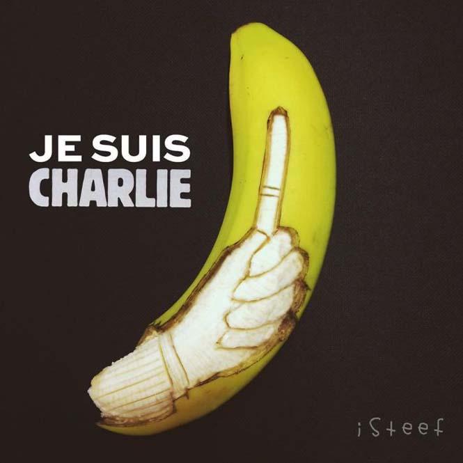 Τέχνη με μπανάνες από τον Stephan Brusche (16)